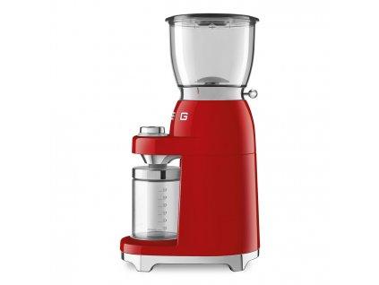 SMEG 50's Retro Style mlýnek na kávu červený