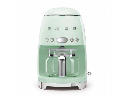 SMEG 50's Retro Style kávovar na filtrovanou kávu 1,4l 10 cup pastelově zelený