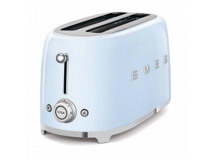 SMEG 50's Retro Style toustovač P2x2 pastelově modrý 1500W