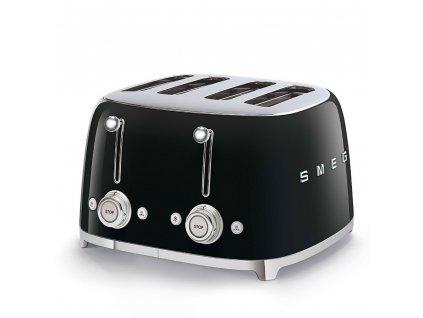 SMEG 50's Retro Style toustovač P4 černý 2000W