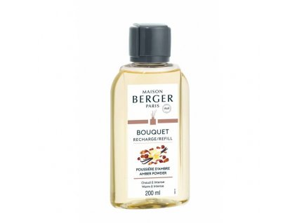 BERGER Poussiere d'Ambre / Ambrový prach náplň 200ml