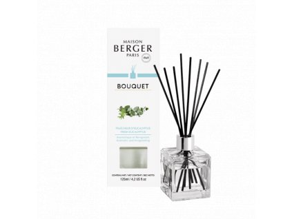 BERGER Fresh Eucalyptus / Čerstvý eukalyptus kostka 125ml