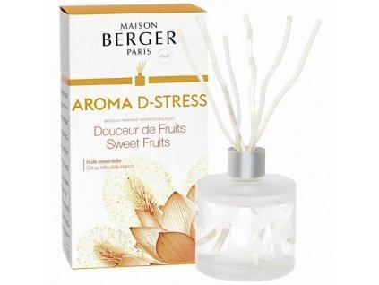 BERGER C22020 Sladké ovoce Aroma Antistres flakon s difuzérem 180ml