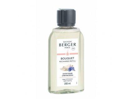 BERGER Lin en fleurs / Lněný květ náplň do difuzéru 200ml