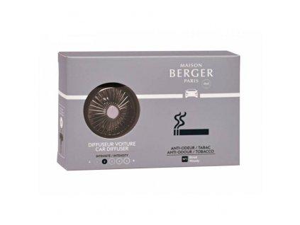 BERGER CAR Functional difuzér do auta, náplň for Tobacco / Antiodour tabák