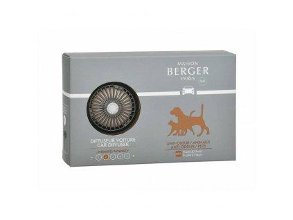 BERGER CAR Functional difuzér do auta, náplň for Animals / Antiodour zvířata