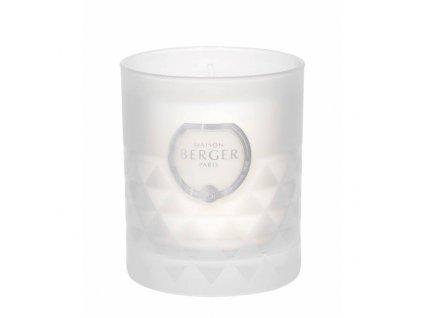 BERGER C12020 Clarity svíčka bílá Vzácný jasmín 180g