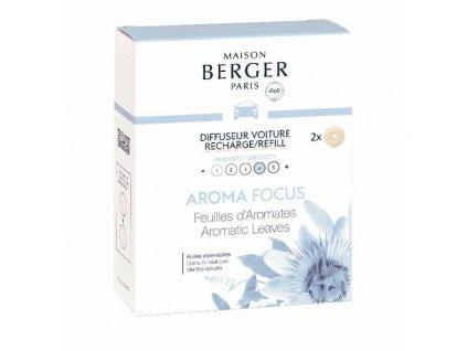 BERGER CAR C22020 2 náhr. náplně Aromatic Leaves/Aromatické listí