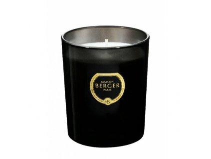 BERGER C22020 Black Crystal svíčka černá Bílé pižmo 240g