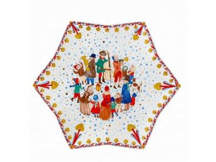 Rosenthal vánoční tác ve tvaru hvězdy, Vánoční trh, Ø 34 cm