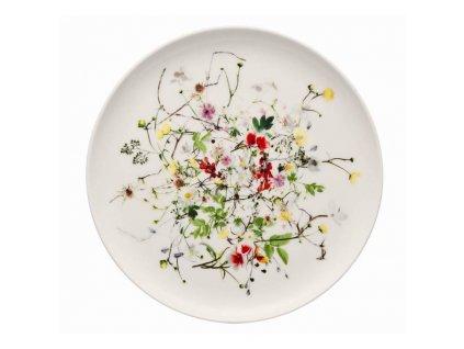 Rosenthal Brillance Fleurs Sauvages pečivový talíř, 18 cm