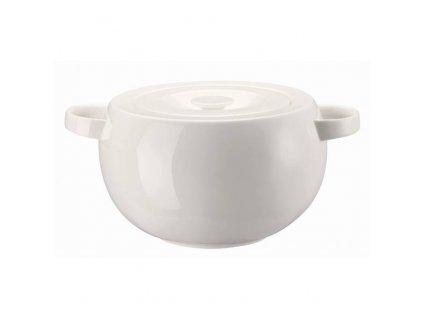 Rosenthal Brillance White zeleninová mísa s poklicí, 3 l