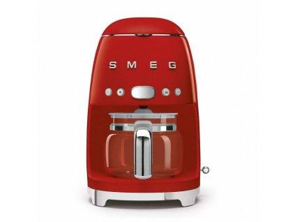 Překapávač na kávu Smeg 50´s Retro Style, červený