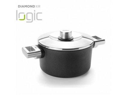 Woll Diamond XR Pro Logic hrnec s nepřilnavým povrchem Ø 20 cm / 3 l