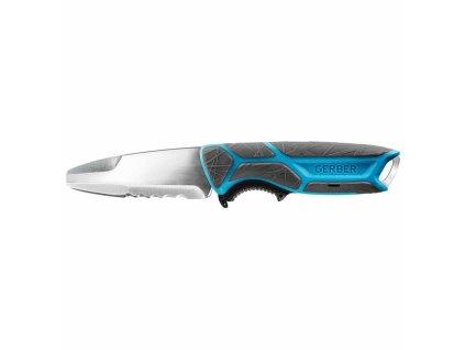 Nůž CrossRiver Combo Salt, kombinované ostří, Gerber