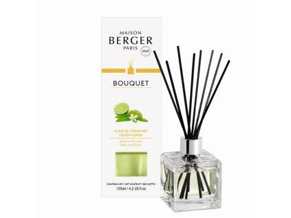 BERGER Lemon Flower / Citrónový květ kostka 125ml