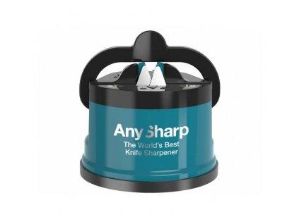 Brousek na nože AnySharp, tyrkysový