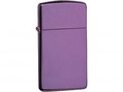 Zapalovač Zippo 26647 High Polish Purple Slim