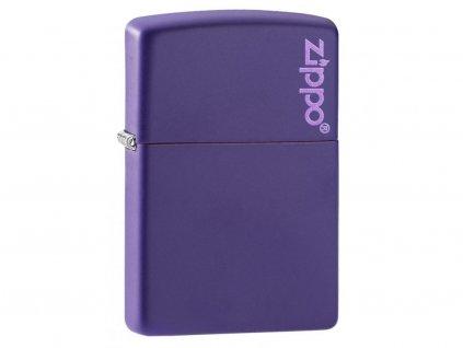 Zapalovač Zippo 26097 Purple Matte Zippo Logo