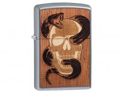 Zapalovač Zippo 25527 Woodchuck USA Skull & Snake