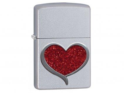 Zapalovač Zippo 20042 Glitter Heart