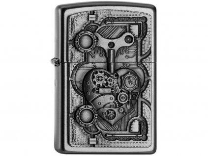 Zapalovač Zippo 20407 Steampunk Heart