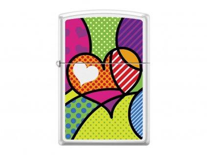 Zapalovač Zippo 26891 Pop Art Heart