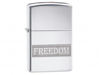 Zapalovač Zippo 22087 Etched Freedom Design