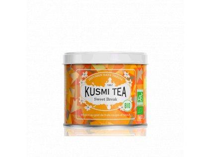 Sypaný bio organický bylinný čaj Kusmi Tea Sweet Break, 100 g