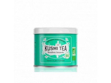 Sypaný bio organický bylinný čaj Kusmi Tea Mandlový Rooibos, 100 g