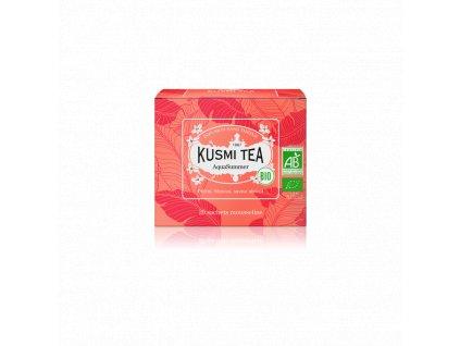 Sypaný bio organický bylinný čaj Kusmi Tea AquaSummer,  20 sáčků