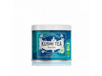 Sypaný bio organický bylinný čaj Kusmi Tea Feel Zen, 100 g