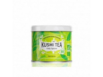 Sypaný bio organický bylinný čaj Kusmi Tea Only Spices, 100 g