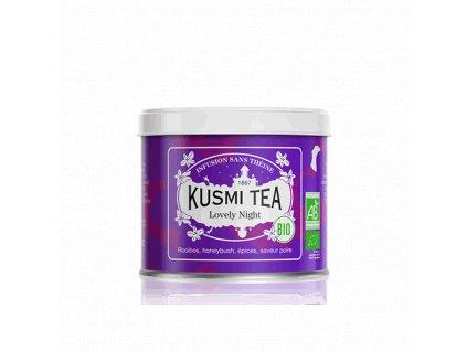 Sypaný bio organický bylinný čaj Kusmi Tea Lovely Night, 100 g