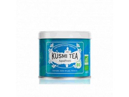 Sypaný bio organický bylinný čaj Kusmi Tea AquaFrutti, 100 g