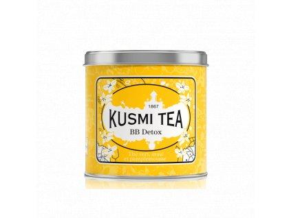 Sypaný detoxikační čaj Kusmi Tea BB Detox v kovové dóze 250 g