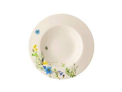 Rosenthal Fleurs des Alpes Hluboký talíř s okrajem, 23 cm