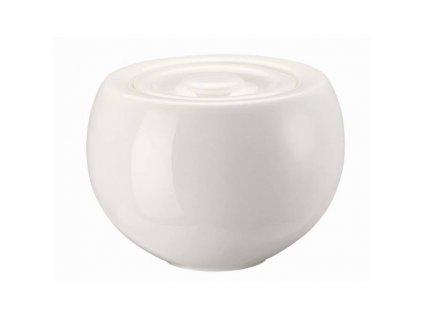 Rosenthal Brillance White Cukřenka s víčkem, 0,25 l
