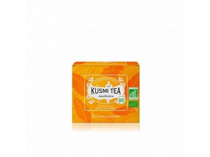 Kusmi Tea AquaExotica, bio organický ovocný čaj, 20 sáčků