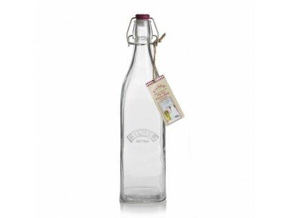 Skleněná láhev Kilner s klipem, 1,0 l