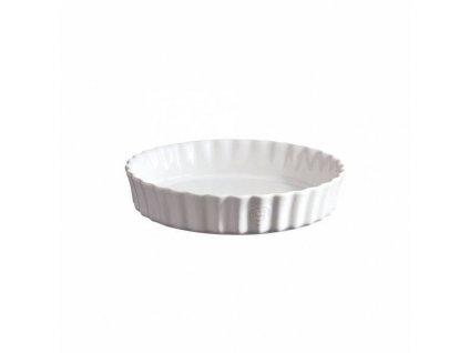 Hluboká koláčová forma Emile Henry - průměr 24 cm, nugátová
