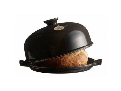 Emile Henry forma na pečení chleba, pepřová, 3,1 l / Ø 28,5 cm