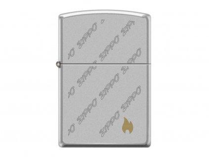 Zapalovač Zippo 20952 Logo and Flame