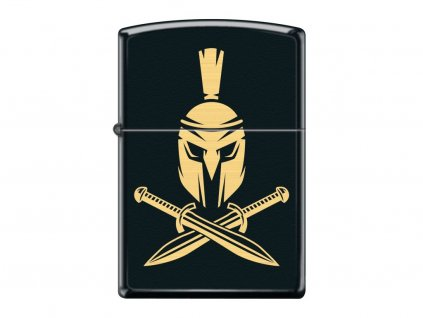 Zapalovač Zippo 26932 Helmet with Crossed Swords