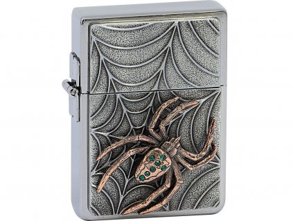 Zapalovač Zippo 29114 Copper Spider