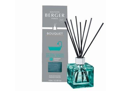BERGER for Bathroom / Na zápach v koupelně,WC difuzér s náplní kostka 125ml