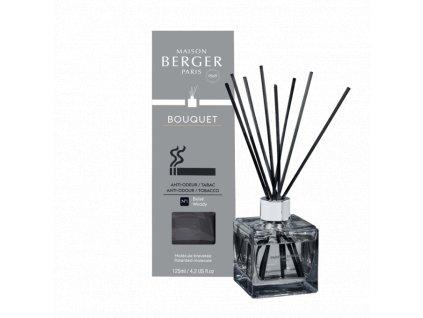 BERGER for Tobacco / Na zápach po tabáku, difuzér s náplní kostka 125ml