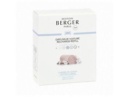 BERGER CAR 2 náhr. náplně Caresse de coton / Čistá bavlna