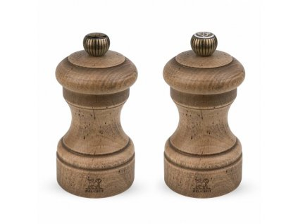 PEUGEOT Bistro Antique Duo sada mlýnků na pepř a sůl, 10 cm