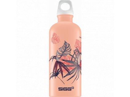 SIGG Florid Shy Pink Touch láhev 0,6l